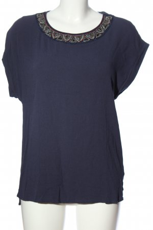 Atmosphere T-shirt blu stile casual