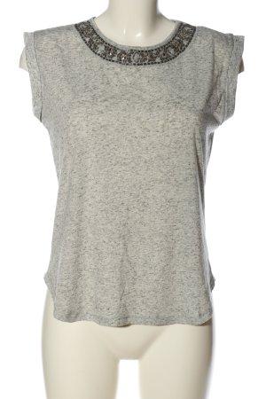 Atmosphere T-shirt kremowy-jasnoszary Melanżowy W stylu casual