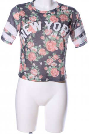 Atmosphere T-Shirt Blumenmuster Casual-Look