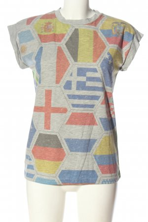 Atmosphere T-Shirt Motivdruck Casual-Look