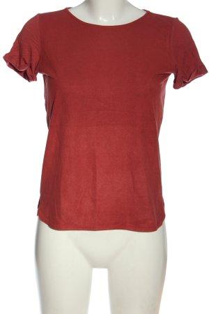 Atmosphere T-shirt rouge style décontracté