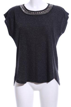 Atmosphere T-Shirt schwarz meliert Casual-Look