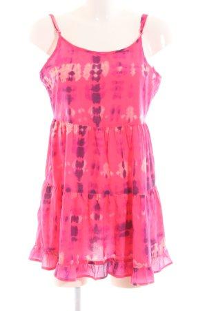 Atmosphere Trägerkleid pink Allover-Druck Casual-Look