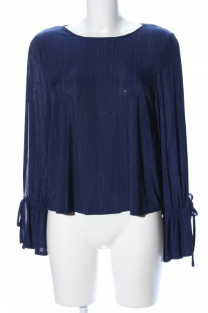 Atmosphere Transparante blouse blauw casual uitstraling