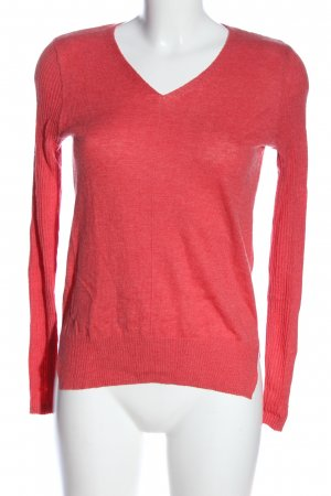 Atmosphere V-Ausschnitt-Pullover rot Casual-Look