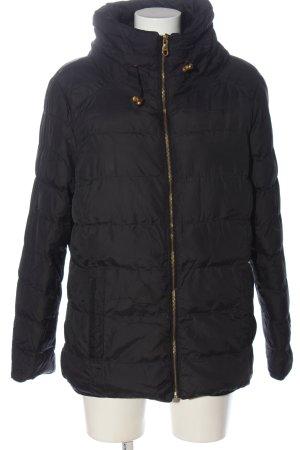 Atmosphere Kurtka zimowa czarny Pikowany wzór W stylu casual