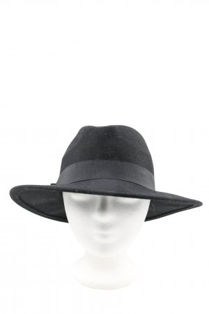 Atmosphere Cappello di lana nero stile casual