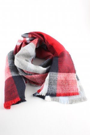 Atmosphere Woolen Scarf check pattern casual look