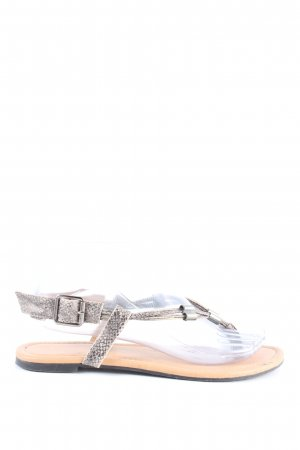 Atmosphere Toe-Post sandals light grey-natural white casual look