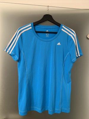 atmungsaktives Sportshirt Adidas Blau