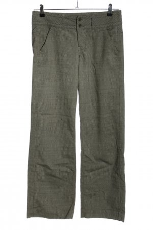 ATO Suit Trouser light grey allover print business style