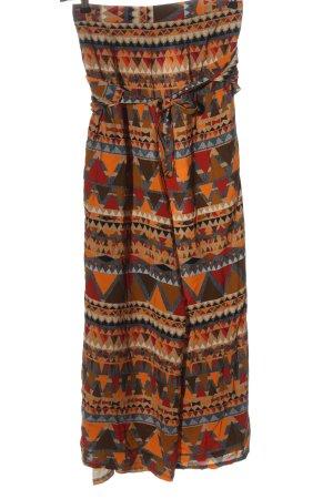 Ato-Berlin Pantalon «Baggy» motif abstrait style décontracté