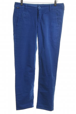 Ato-Berlin Chinohose blau Casual-Look