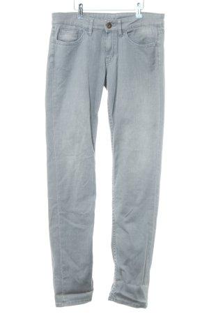 Ato-Berlin Skinny Jeans hellgrau Casual-Look