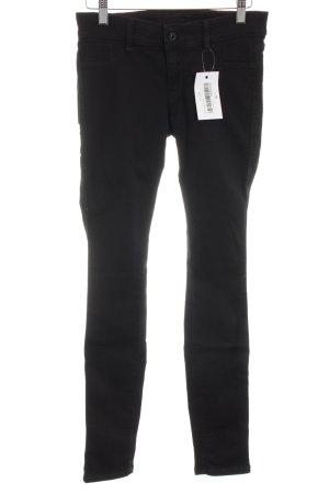 Ato-Berlin Skinny Jeans schwarz Business-Look