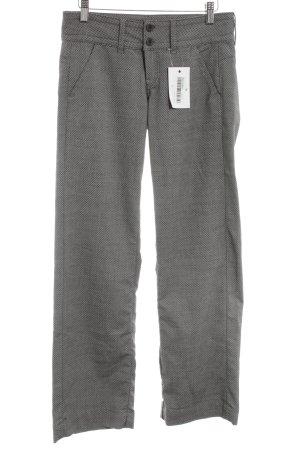 Ato-Berlin Pantalon en jersey gris clair imprimé allover style d'affaires