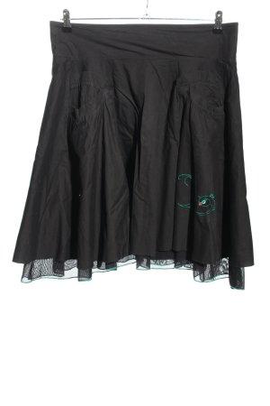 ATO Mini rok zwart casual uitstraling
