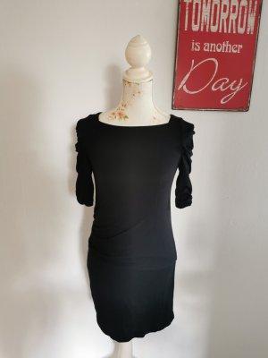 Atos Lombardini Sukienka z dżerseju czarny Modal