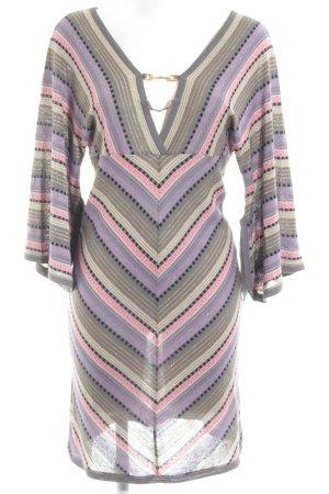 Atos Lombardini Shortsleeve Dress striped pattern elegant