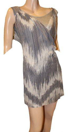 Atos Lombardini Tunic Dress black-white silk