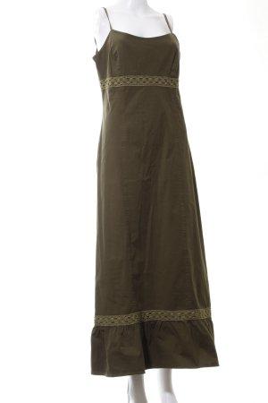 Atos Lombardini Robe longue bronze style décontracté