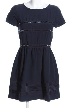 Atos Lombardini Minikleid blau Elegant