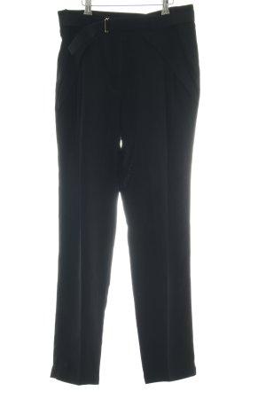 Atos Lombardini Pantalon en jersey noir style d'affaires