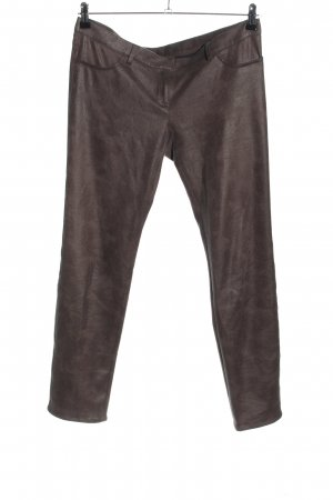 Atos Lombardini Stretch Trousers brown casual look