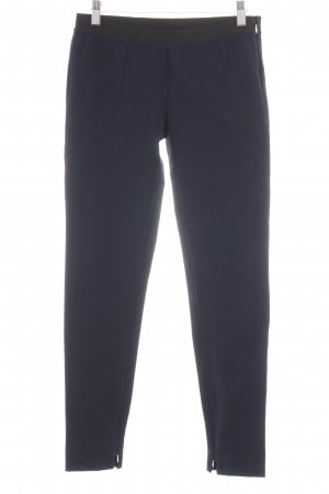 Atos Lombardini Stretch Trousers blue casual look