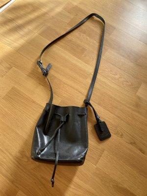 ATP Atelier Handtasche Mini Bucket Bag schwarz