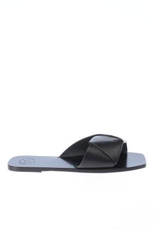 "ATP Atelier Sabots ""Flat Sandal"" black"