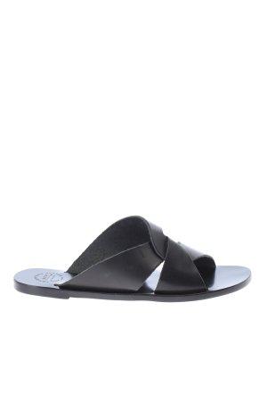 "ATP Atelier Beach Sandals ""Allai Slipper"" black"
