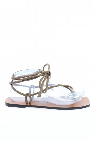 "ATP Atelier Toe-Post sandals ""Alezio"" light grey"