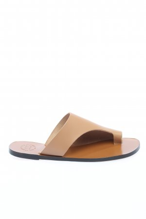 ATP Atelier Toe-Post sandals natural white casual look