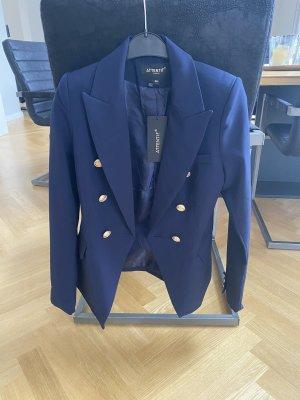 Attentif Klassischer Blazer blue