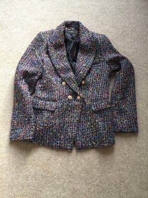 Attentif Blazer en tweed multicolore