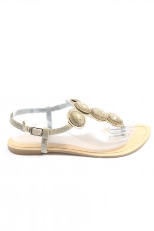 Attentif Dianette Sandals natural white-light grey casual look