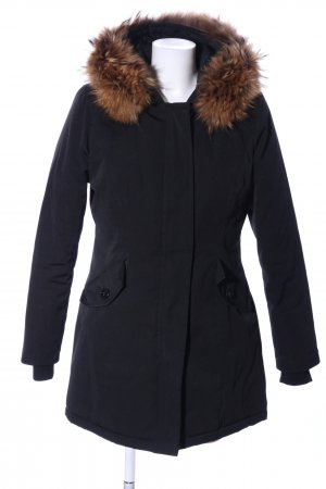 Attentif Long Jacket black casual look