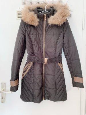 Attentif Hooded Coat black