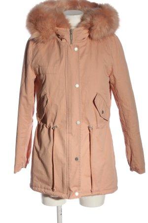 Attentif Paris Between-Seasons Jacket pink casual look
