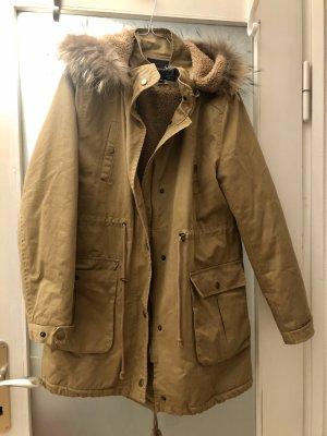 Attentif Between-Seasons-Coat beige-camel