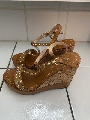 Attentif Wedge Sandals multicolored