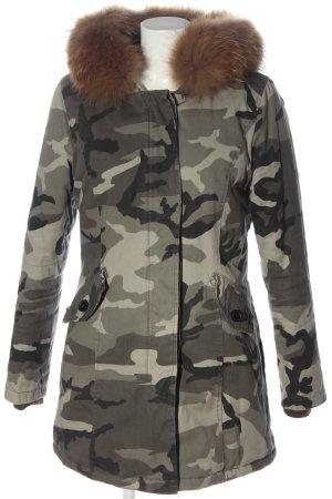 Attentif Winter Jacket camouflage pattern casual look