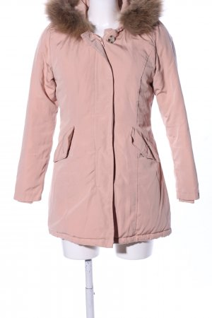 Attentif Winterjacke pink Casual-Look