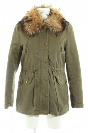 Attentif Winterjacke khaki Casual-Look