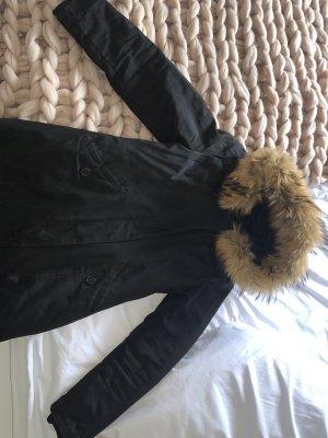 Attentif Winter Coat black