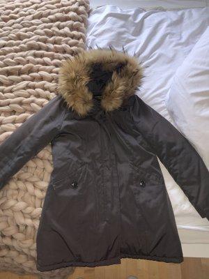 Attentif Winter Coat grey-anthracite