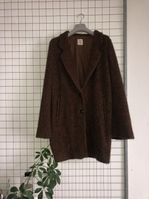 Attic & Barn Manteau court cognac-brun noir