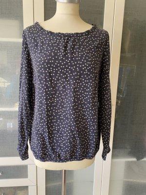 Attic & Barn Zijden blouse blauw Zijde