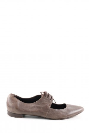 Attilio giusti leombruni Ballerinas with Toecap brown casual look